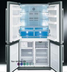 Samsung - Family Hub 22.08 Cu. Ft. Counter-Depth 4-Door Flex Smart ...