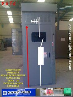SUBESTACION 15 KV  4000 AMPERES   NEMA 3R  MARCA ELECTROPUENTE ENTRADA-SALIDA CON CABLE INCLUYE APARTARRAYOS Y FUSIBLES