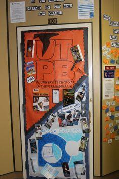 College door decorating contest diy pinterest for Door design with highlighter