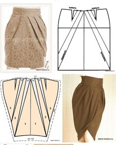 Amazing Sewing Patterns Clone Your Clothes Ideas. Enchanting Sewing Patterns Clone Your Clothes Ideas. Skirt Patterns Sewing, Blouse Patterns, Clothing Patterns, Fashion Sewing, Diy Fashion, Autumn Fashion, Sewing Clothes, Diy Clothes, Patron Vintage