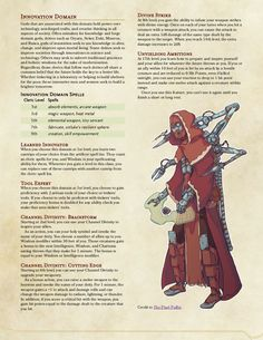 Dungeons And Dragons Classes, Dungeons And Dragons Homebrew, Cleric Domains, Dnd Cleric, Dnd Dragons, Dnd Races, Dnd Classes, Dungeon Master's Guide, Dnd 5e Homebrew