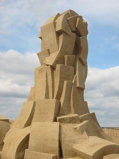 Sand sculpture in Denmark, photo by Morten Brunbjerg, via Flickr