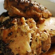 Crock Pot Beer Chicken -•2lbs skinless, boneless chicken breasts (8 breasts, 4oz ea) •1 bottle or can of your favorite beer •1 tsp salt •1 tsp garlic powder •1 tbsp dried oregano •1/2 tsp black pepper