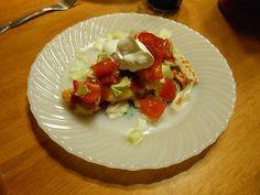 Flatrock Cabin: Bearded Hats and Chicken Taco Pizza
