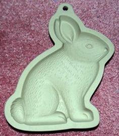 WILTON STONEWARE MOLD BUNNY RABBIT EASTER COOKIE MOLD CRAFTS 1997