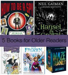 5 Books for Older Readers for Christmas 2014