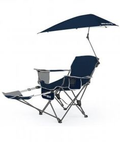 This deluxe beach chair with an attached umbrella even extends into a chaise for maximum sunbathing comfort. It also comes with tons of storage room, including an insulated pocket for snacks, as well as a cup holder for cool beverages.