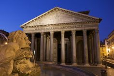 """Il Pantheon (""""tempio di tutti gli dei"""") è un edificio di Roma antica, costruito come tempio dedicato alle divinità dell'Olimpo.  Gli abitanti di Roma lo chiamano amichevolmente la Rotonna, o Ritonna] (""""laRotonda""""), da cui anche il nome della piazza antistante.  http://www.tambus.it/p/scheda_pantheon.htm"""