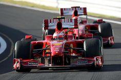 De 2 Ferrari's