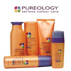 Pureology Curl Complete Uplifting Curl light spray gel revives lifeless curls with enhanced definition and bounce without frizz