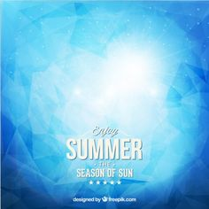 Abstract summer background Free Vector