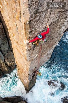 NEVER-STOP-EXPLORING, Rock climbing in Australia.