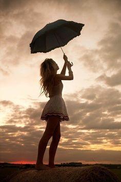 The classic umbrella shot