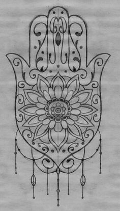 New arm tatoo Hamsa Tattoo Design, Hamsa Hand Tattoo, Hamsa Art, Hamsa Design, Hand Tattoos, Arabic Tattoos, Flower Tattoos, Sanskrit Tattoo, Tattoo Motive