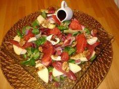 Salade hivernale aux magrets et sa vinaigrette au chocolat