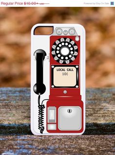TWO DAY SALE Payphone Phone Case IPhone 4 Case by Lifeonawire