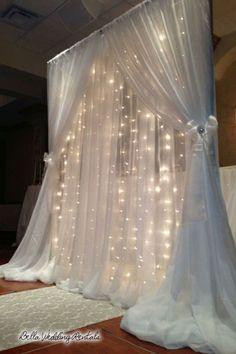 pipe & drape - wedding day rentals - 2025