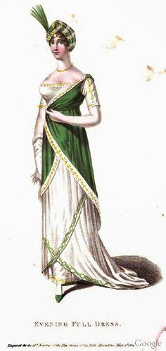 EVENING DRESS. 1811