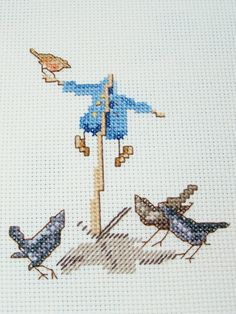 Where did Peter Rabbit go? Beatrix Potter  Peter Rabbit Completed Cross by WitsEndDesign, $15.00