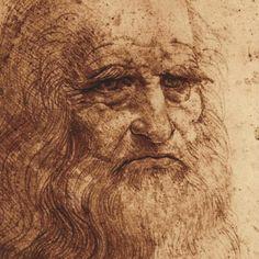 Self Portrait (detail) Print by Leonardo da Vinci at Art.com- Leonardo DiVinci- El Maestro- Can't think of anyone more interesting than him.
