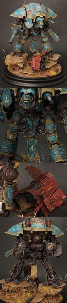 Imerial Knight silver at 2014 golden demon