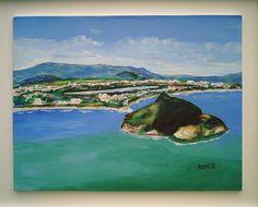PEDRA DO PONTAL- (Pintura) por Romeo PEDRA DO PONTAL- RECREIO DOS BANDEIRANTES- RIO DE JANEIRO -BRASIL.- ACRÍLICO- NICÉAS ROMEO ZANCHETT ESTA OBRA ESTÁ NO MUSEU VIRTUAL PINTORES DO RIO.
