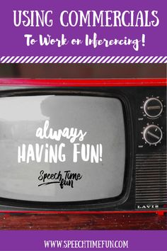 Looking for more ways to work on inferencing? Use commercials!   My students love anything visual and anything that includes You Tube. So if I am going to work on a tricky skill like inferencing, I a