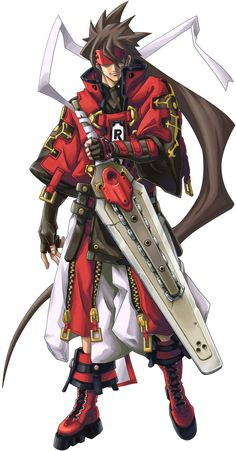 Guilty gear Sol badguy