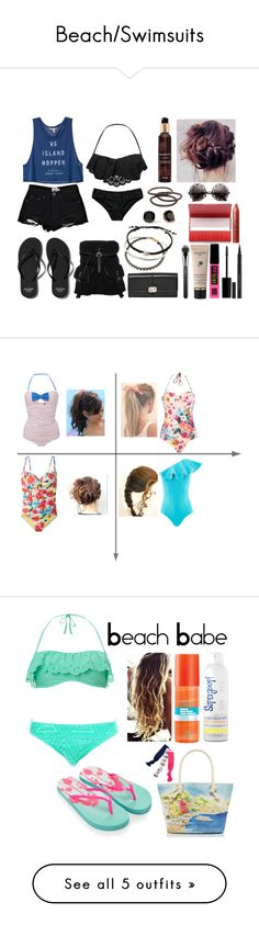 """Beach/Swimsuits"" by marymh on Polyvore"