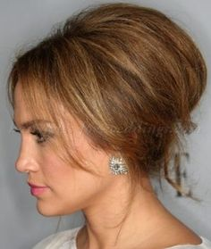 mother of the bride medium length hairstyles - bouffant hairstyle for mother of the bride