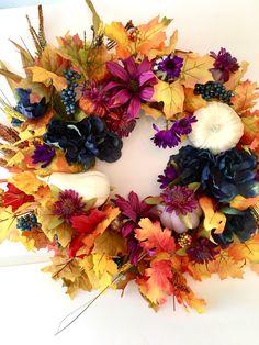 Harvest Fall Wreath 25 x 25
