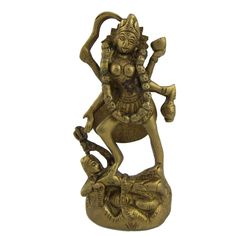 Amazon.com: Goddess Kali Metal Brass Sculpture 2 X 2 X 4.5 Inches: Home & Kitchen
