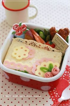 Cute sandwich bento