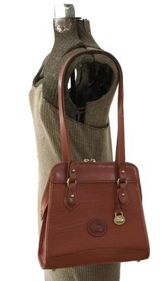 Vintage Dooney and Bourke Shoulder Bag c1990's #dooneyandbourke #vintagedooney #allweather