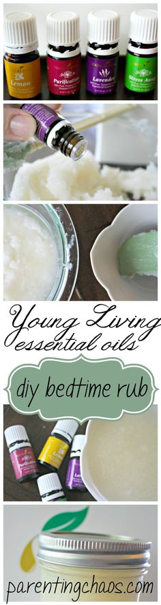 Homemade Bedtime Lotion: Having trouble falling asleep? Try treating yourself to a calming homemade body lotion, filled with scents of lavender, chamomile, and other soothing essential oils! This is one of our family favorites for use on myself, the hubs, and the kids!