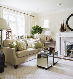 - Interiors - Liliana & Frank Living and Dining Room.  Love this room Samantha pynn