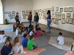Inaugurem a l'Alguer. Treball plàstic col·laboratiu.  http://pontdelarcada.blogspot.com.es/2012/06/inauguracio-lalguer.html