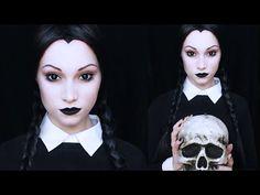 Wednesday Addams Makeup Tutorial - YouTube