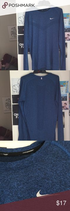 Nike Men's Running shirt Long sleeve, light Running shirt. Very soft and in great condition Nike Shirts Tees - Long Sleeve