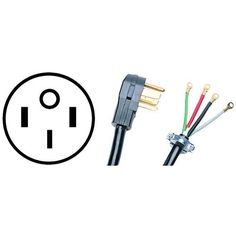 PETRA 90-2088 50 A 10-Foot 4-Wire Range Cord by Petra. $31.81. From the Manufacturer                4-wire range cords are 10 feet in length and are 50 Amps and are not UL listed.                                    Product Description                CLOSED EYELET50A 250VISO 9002 CERTIFIEDBULK PACKED1/1210 FTNOT UL LISTEDUPC : 086844920889Shipping Dimensions : 14.25in X 10.25in X 5.00inEstimated Shipping Weight : 5.05