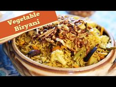 Vegetable Biryani   Simple & Easy To Make Main Course Rice Recipe   Divi...