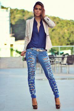 Jeans Destroyed!