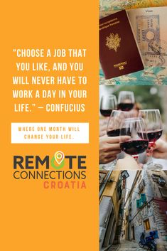 Remote Connections Croatia Travel For Digital Nomad Remote Work Remoteconnections Profile Pinterest