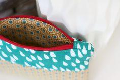 Pech&Schwefel: Tutorial: Wie man einen Reißverschluss in Taschen näht - ohne Gnubbel