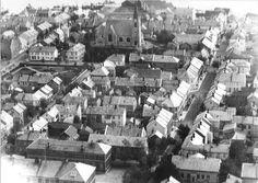 Namsos sentrum ca. 1930 by Espen Sandmo, via Flickr