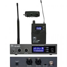 Galaxy Audio AS-1500 Personal Wireless System Channel D