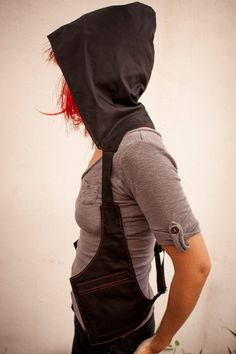 Hoodstrap holster hoodie black and red