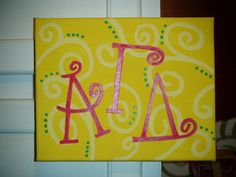 AGD canvas painting