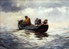 Winslow Homer. Crab Fishing