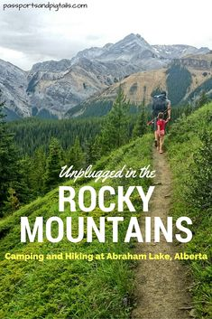 Unplugged in the Rockies: Camping and Hiking at Abraham Lake, Alberta – Passports and Pigtails Lake Camping, Camping And Hiking, Camping Tips, Camping Places, Backpacking, Alberta Travel, Canadian Travel, Canadian Rockies, Canada Destinations